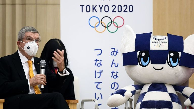 The Olympics was suspended for the first time in 2020