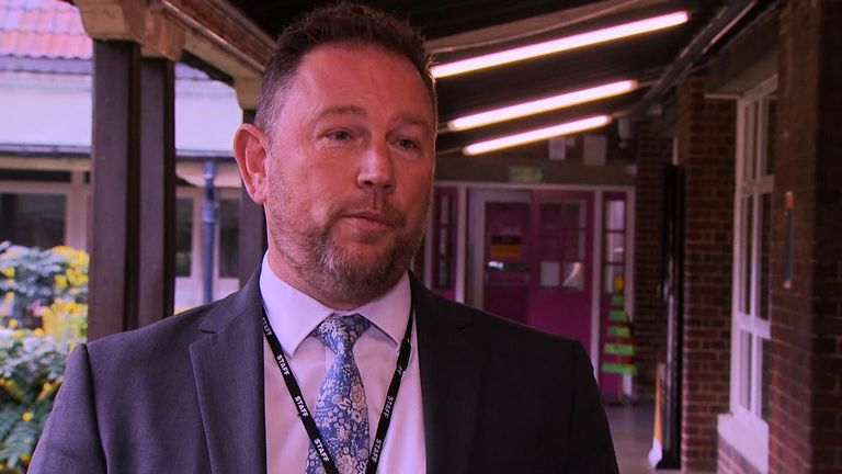 Headteacher Tony Roe says onsite testing could help enormously