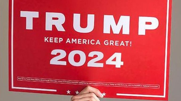 Trump is said to be considering running for the White House again in 2024 Pic: @realDonaldTrump