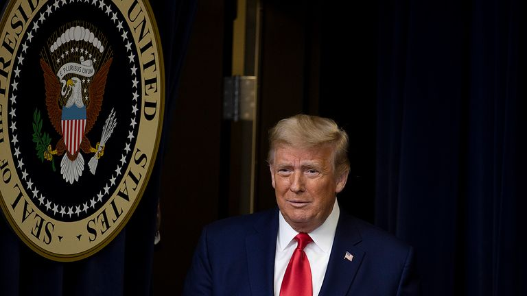 President Trump has still not accepted the result of the US election