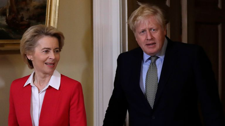 Ursula von der Leyen and Boris Johnson will have dinner in Brussels, but the chances of a breakthrough seem bleak