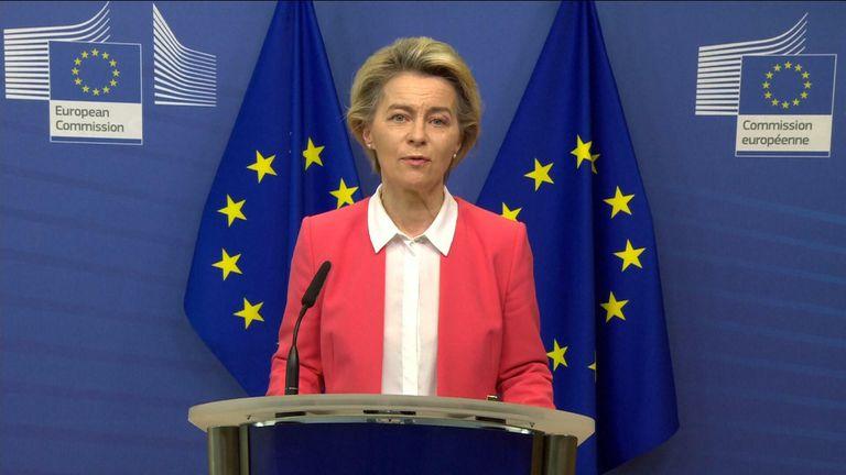 Ursula von der Leyen, presiden Komisi Eropa
