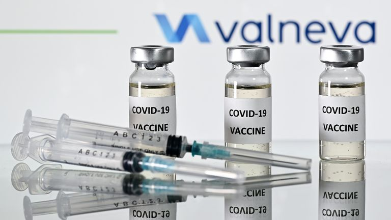 Valneva's COVID-19 candidate is being developed in Scotland