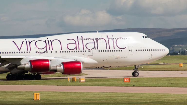 Virgin Atlantic says