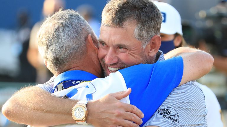 Lee Westwood reflects on becoming the oldest Race to Dubai champion in history after winning the European Tour's Order of Merit for a third time