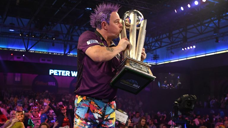 Peter Wright is seeded second and will kick of his World Championship defence against
