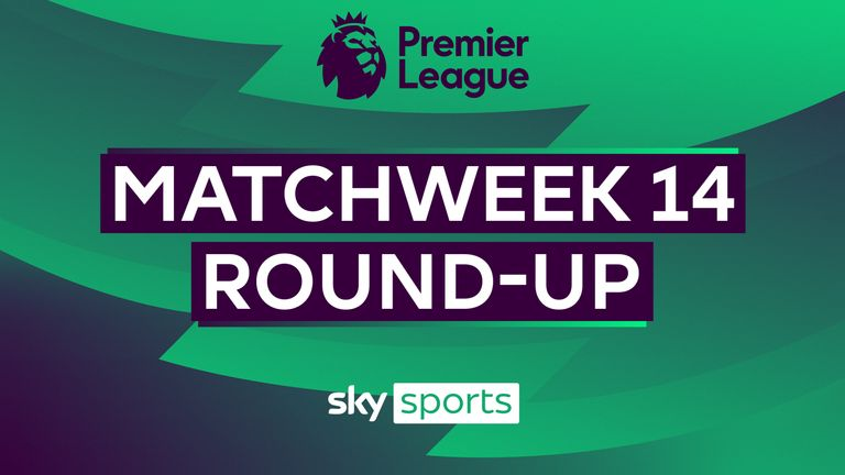 A round-up of all the action from Matchweek 14 in the Premier League, featuring Liverpool's thrashing away to Crystal Palace and Manchester Utd's 6-2 win over Leeds
