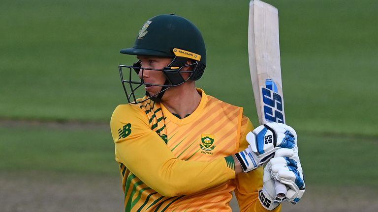 Rassie van der Dussen, South Africa, T20I vs England