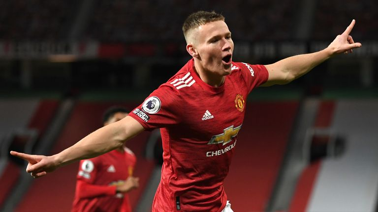 Roy Keane says Manchester United's Scott McTominay is maturing as a player after the midfielder scores two early goals at Old Trafford against Leeds.