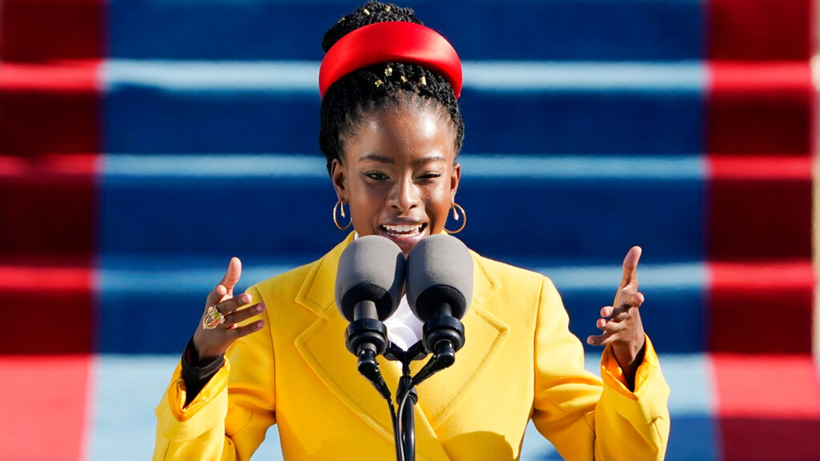 Who is Amanda Gorman - the young poet who captivated America during Biden's inauguration?