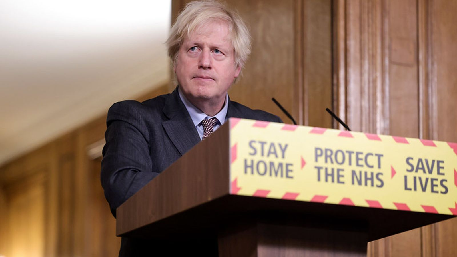 COVID-19: Boris Johnson elbows aside cabinet ministers to offer route out of lockdown to restless Tory MPs