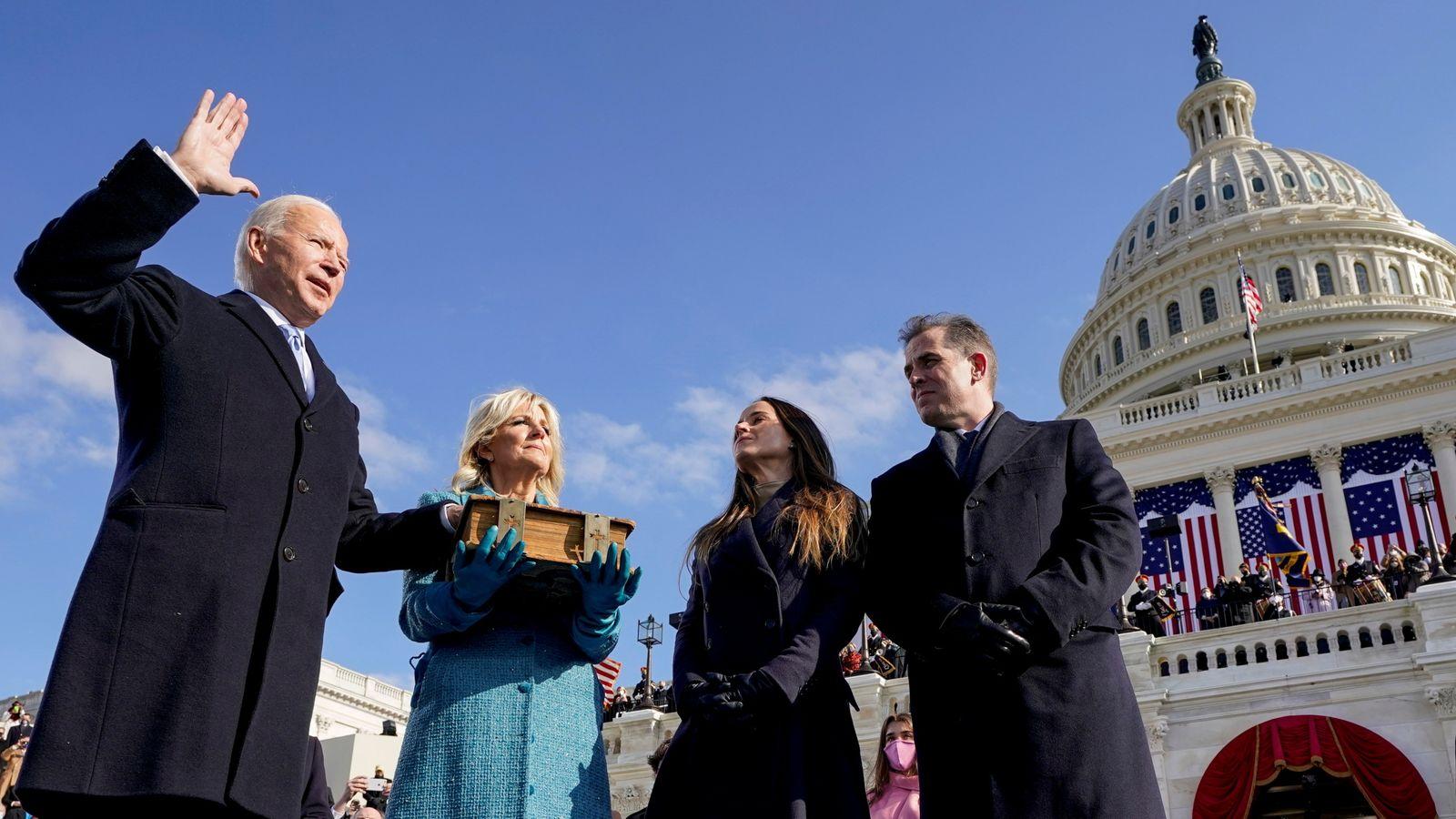 Biden and Harris inauguration live: Watch Joe Biden