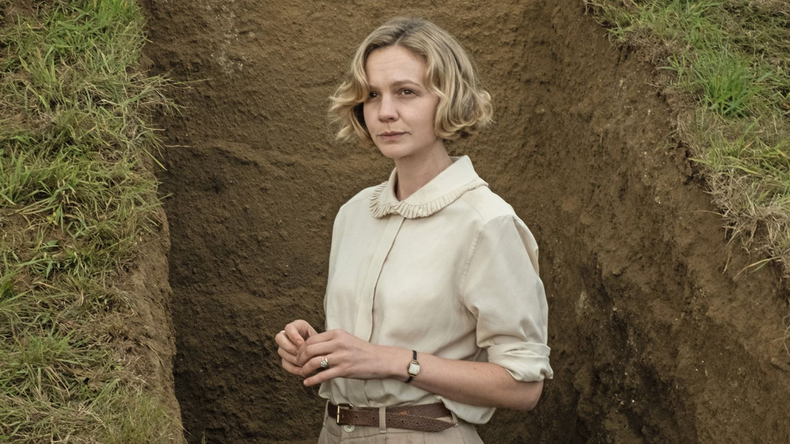 Carey Mulligan on The Dig: 'Platonic leads are very rare on screen… This is different' - Sky News