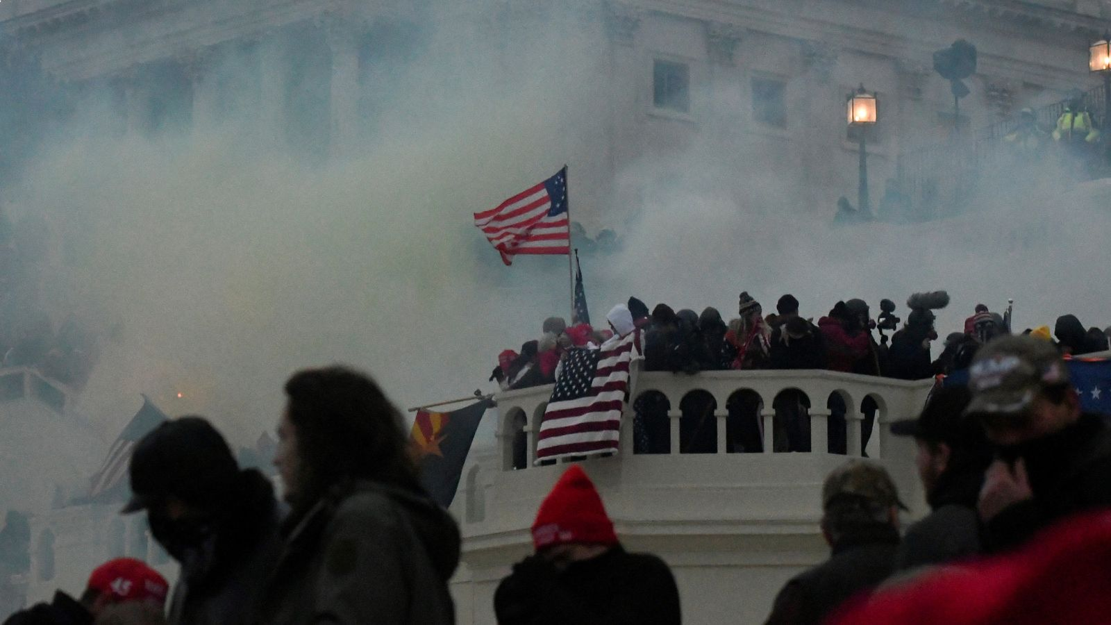 US police uncover 'potential plot' by militia group to breach Capitol on Thursday