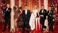 Britain's Got Talent judges David Walliams, Alesha Dixon, Simon Cowell and Amanda Holden, and hosts Ant and Dec. Pic: ITV/Shutterstock