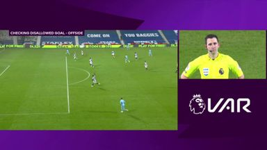 VAR controversy as City score after offside flag