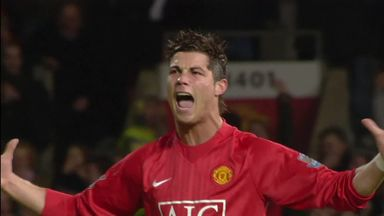 Ronaldo's best Premier League goals