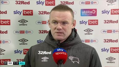 Rooney delighted with Derby reaction