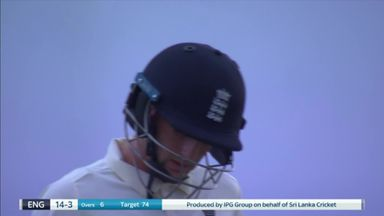 Root run out as England stutter