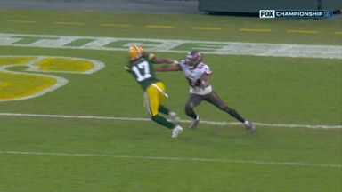 Rodgers hits Adams for TD