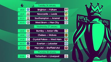 Premier League Matchweek 20 Preview