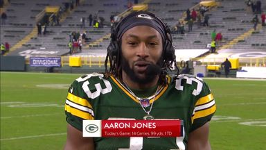 Jones: We were happy to have fans back