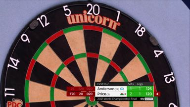 Remarkable darts from Price