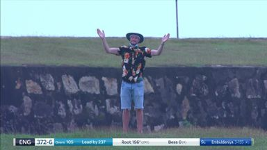 Lone England fan enjoys 'magnificent' Root call