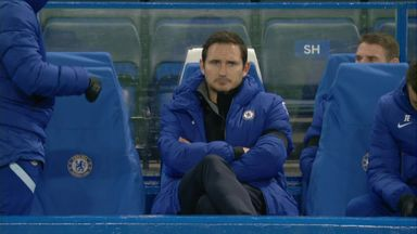 'Players didn't turn up for Lampard'