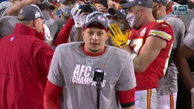Mahomes: The job is not finished