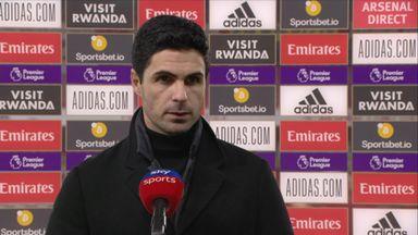 Arteta: Not enough quality to win