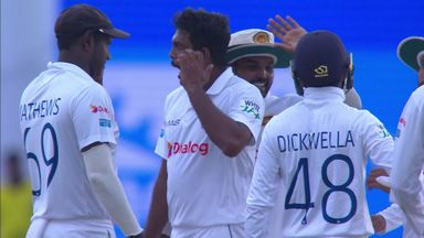 Sri Lanka's high five fail!