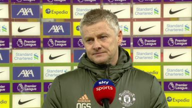 Solskjaer: We didn't deserve to win the game