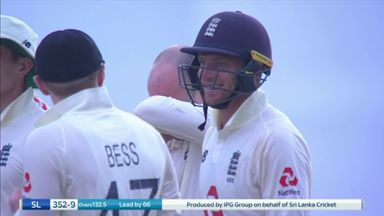 Buttler gets first Test stumping