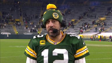 Rodgers: I'm so proud