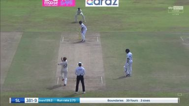 Sri Lanka end on 381