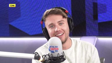 Roman Kemp: I'm not quite Arsenal level!