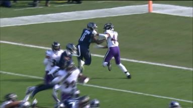 Tannehill finds Brown for Titans TD