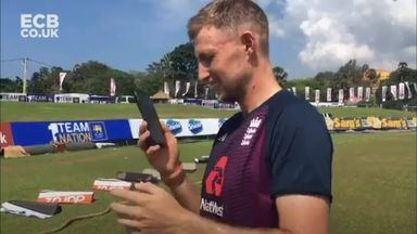 Root calls to thank England fan