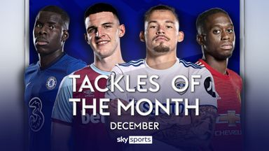 PL Tackles of the Month: December