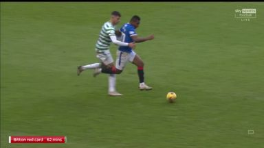 Should Bitton have seen red?