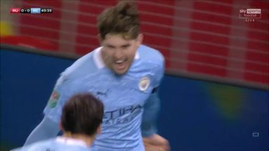 Stones gives City the lead!