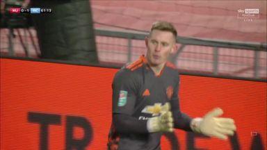 Fine Henderson save denies Mahrez