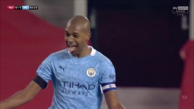 Brilliant Fernandinho volley seals City win