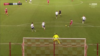Kennedy pulls one back for Aberdeen