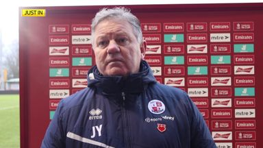 Crawley victory 'fantastic for the town'