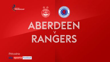 Aberdeen 1-2 Rangers