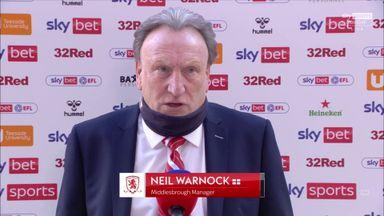 Boro v B'ham: Warnock pre-match