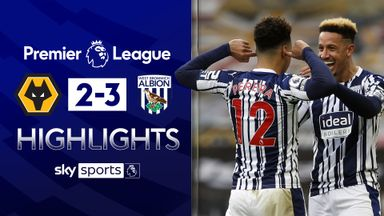 West Brom win at Wolves in five-goal derby