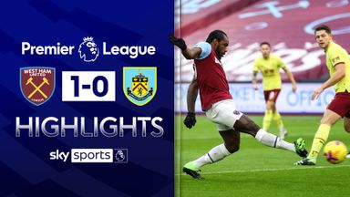 Antonio strike sinks Burnley